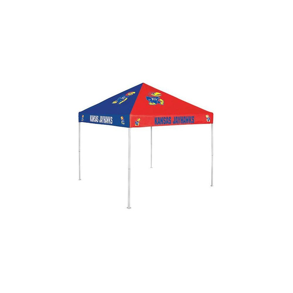 Kansas Jayhawks Checkerboard Canopy Tent