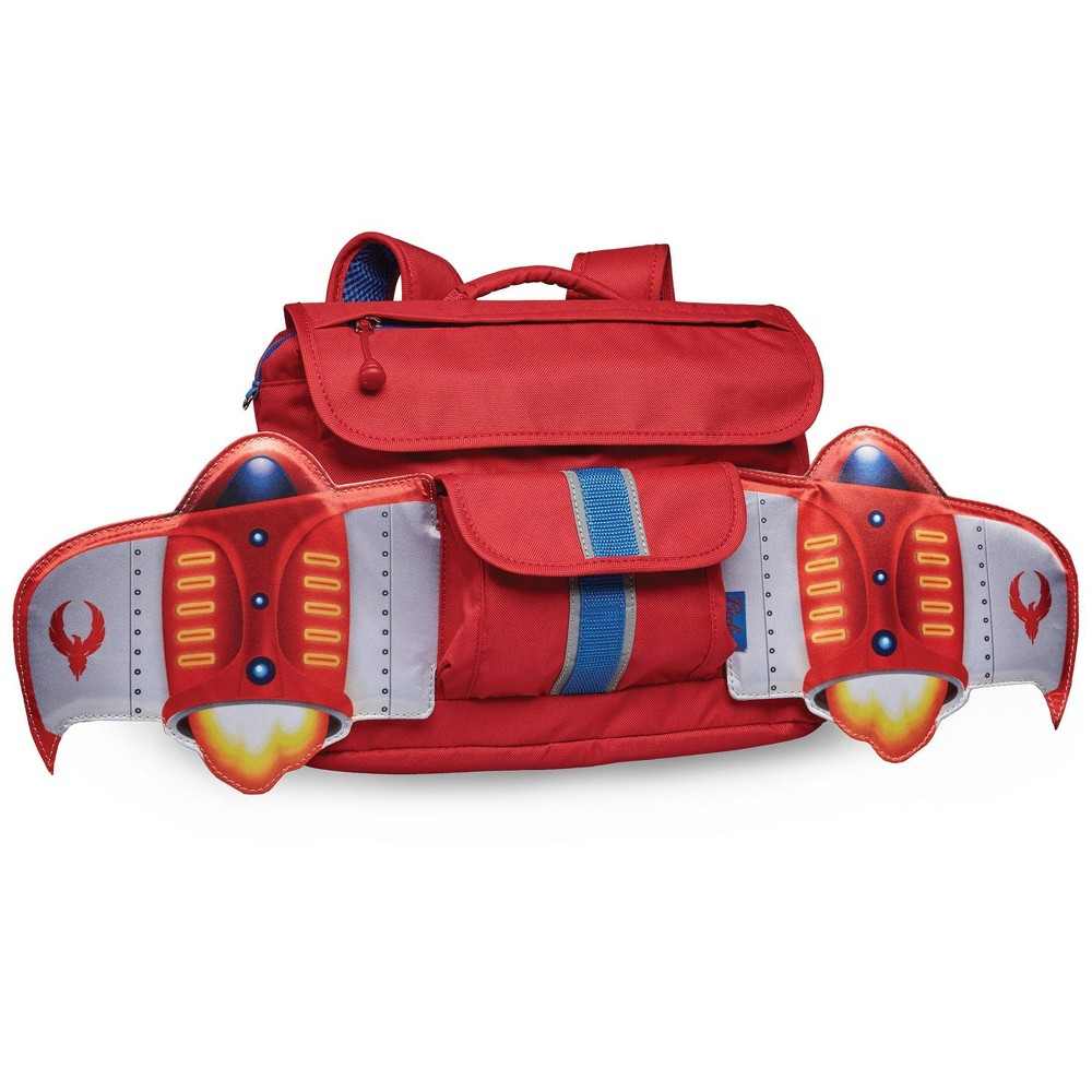 "Image of ""Bixbee 10"""" Kids' Firebird Flyer Backpack - Red, Boy's, Size: Small"""