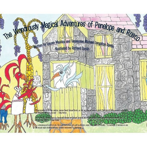 The Wondrously Magical Adventures of Penelope and Rosco - (Hardcover) - image 1 of 1