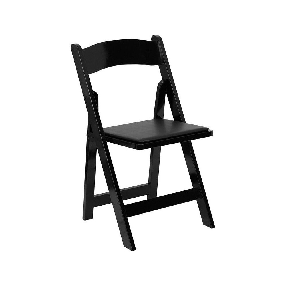 Riverstone Furniture Collection Folding Chair Black