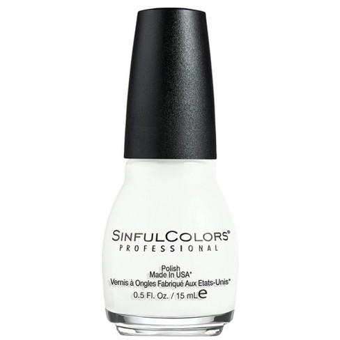 Sinful Colors Nail Polish - Snow Me White - 0.5 fl oz - image 1 of 3