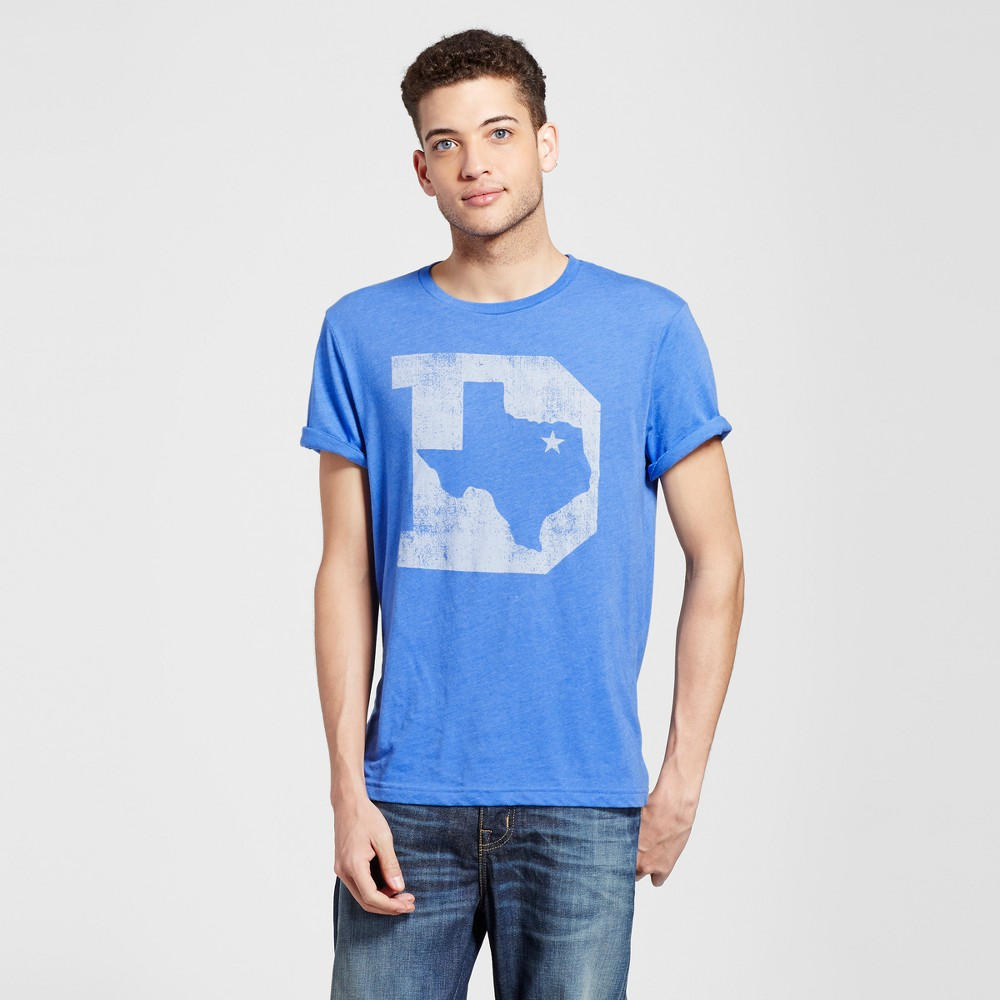 Men's Texas D State T-Shirt L - Blue