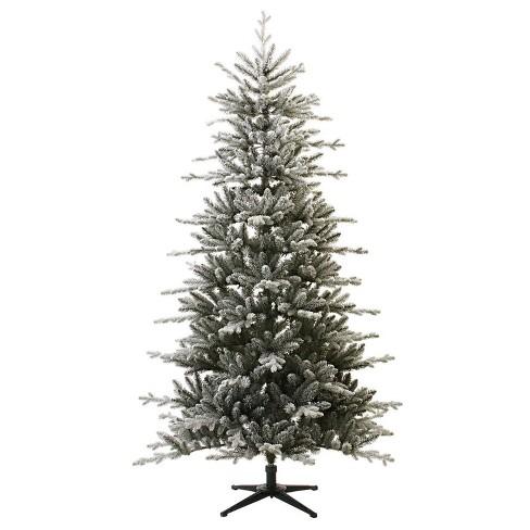7ft Unlit Artificial Christmas Tree Flocked Balsam Fir - Wondershop™ - image 1 of 3