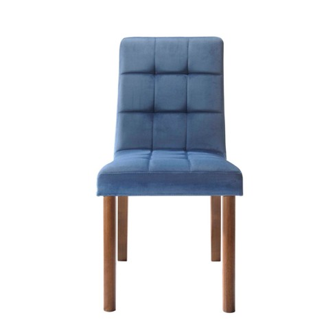 Rosie Tufted Side Chair Set Navy Blue Picket House Furnishings Target