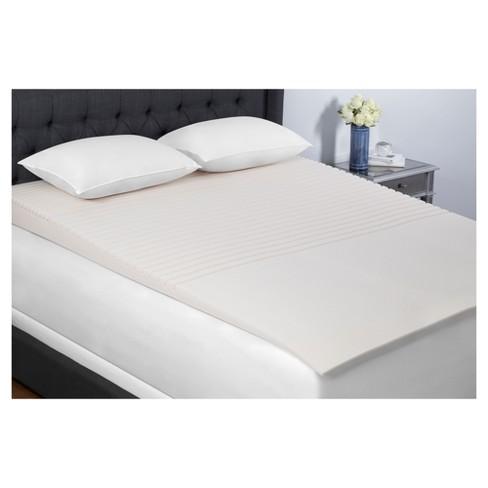 Geo Incline Foam Mattress Topper Full - Beauty Rest - image 1 of 2