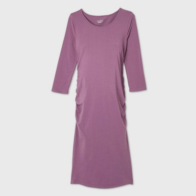 3/4 Sleeve T-Shirt Maternity Dress - Isabel Maternity by Ingrid & Isabel™