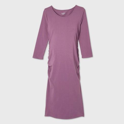 3/4 Sleeve T-Shirt Maternity Dress - Isabel Maternity by Ingrid & Isabel™ - image 1 of 1