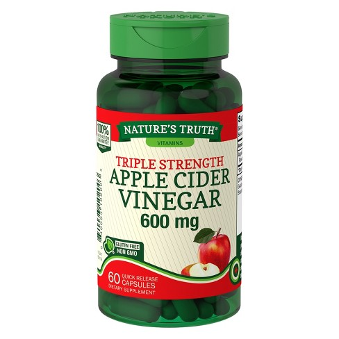 Nature S Truth Triple Strength Apple Cider Vinegar Quick Release
