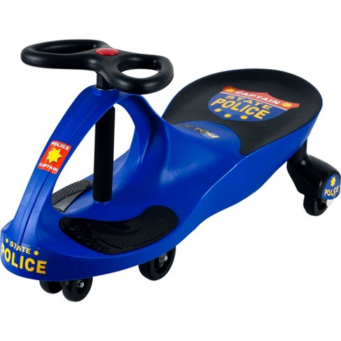 Lil' Rider Chief Justice Police Wiggle Ride-on Car - Blue - image 1 of 1