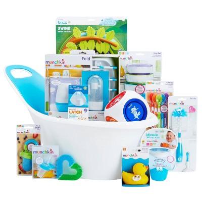 Munchkin My-Munchkin Baby Gift Basket - Blue