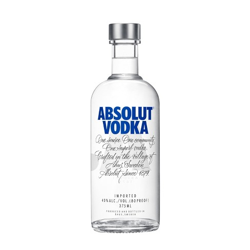 Absolut Vodka - 375ml Bottle - image 1 of 3