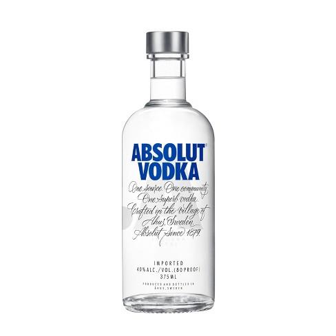 Absolut Vodka - 375ml Bottle - image 1 of 3