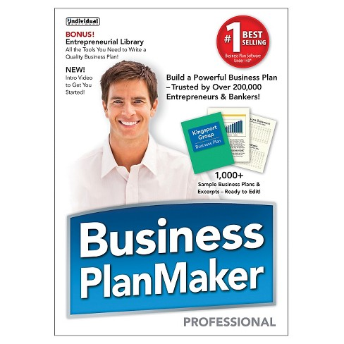 business plan maker professional pc software target