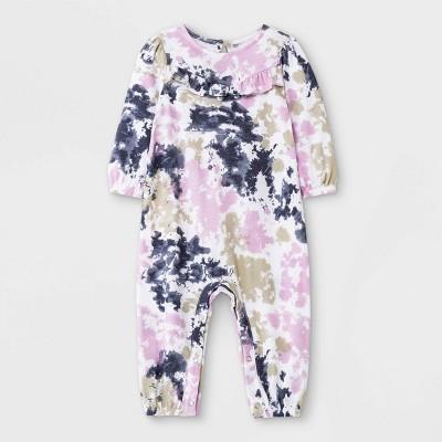 Grayson Mini Baby Girls' Jersey Tie-Dye Romper