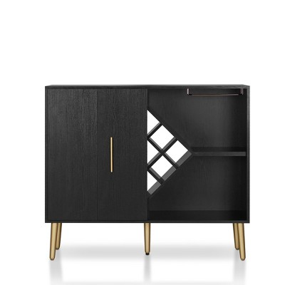 Miko Wine Cabinet Galaxy Black - Homes: Inside + Out
