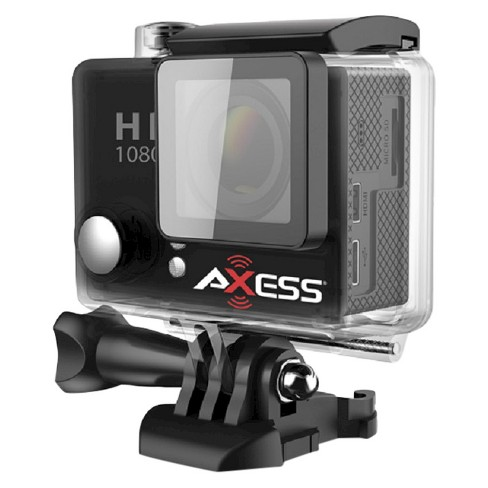 "Axess Action Camera 1080p, 2""LCD with 140 Lens - Black (CS3604BK) - image 1 of 1"
