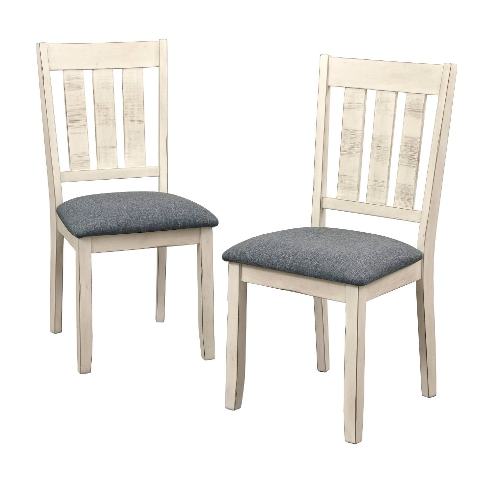 Set of 2 Olin Dining Chair - Brown - Buylateral