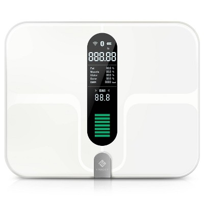 Smart Fitness Scale with Body Composition and Resistance Bands Black - Etekcity