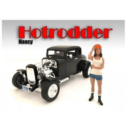 """Hotrodders"""" Nancy Figure For 1:18 Scale Models by American Diorama"""" - image 1 of 1"""