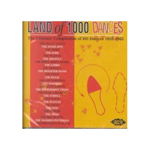 Various Artists - Land Of 1000 Dances: The Ultimate Compilation Of Hit Dances 1958-1965 (CD) - image 1 of 3