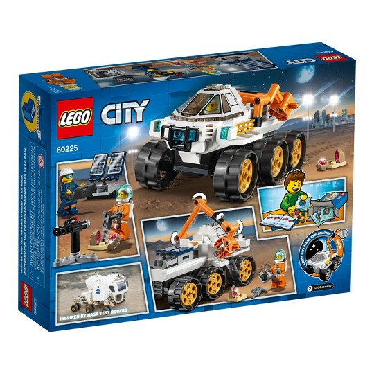 LEGO City Space Port Rover Testing Drive 60225 image number null