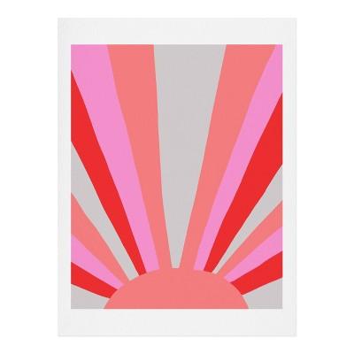SunshineCanteen Sunshine Love Coral Art Print - Society6