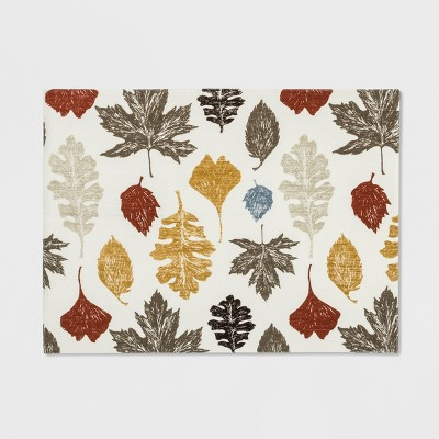 Multi Leaf Placemat Cream - Threshold™