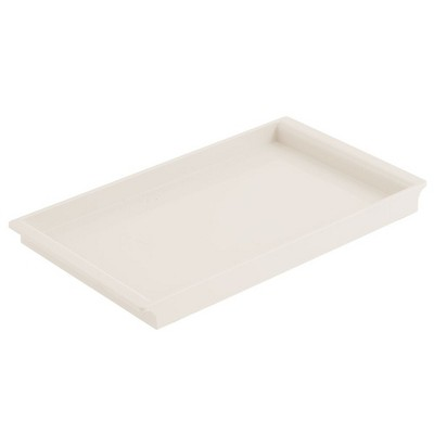 mDesign Plastic Storage Tray for Bathroom Vanity Countertops