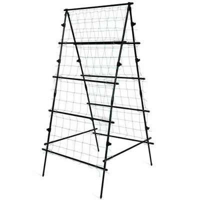 Titan A-Frame Trellis Strong Lightweight Metal Garden Trellis - Gardener's Supply Company