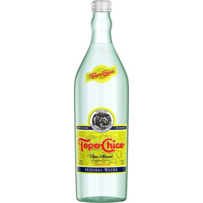 Topo Chico Enhanced Water - 25.4 fl oz Glass Bottle