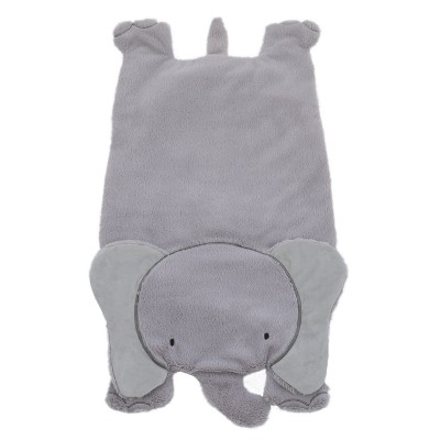 Little Love by NoJo Plush Play Mat - Elephant - Gray