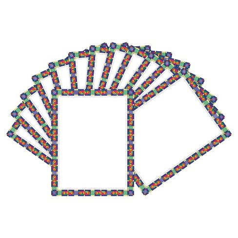 Barker Creek® 2pk Printer Paper 100ct - Stained Glass - image 1 of 2