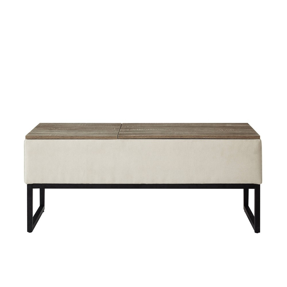Image of Sophie Functional Coffee Table with Storage Beige - Relax A Lounger