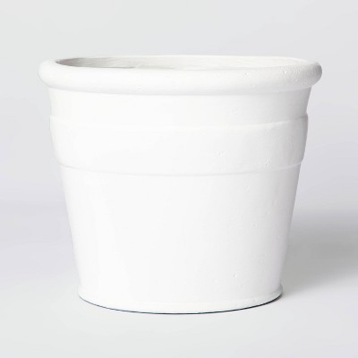 Short Composite Planter White - Threshold™ designed with Studio McGee