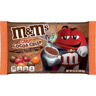 M&M's Halloween Cocoa Crisp Chocolate Pc - 8oz