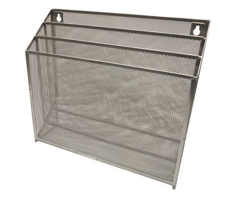 Metal Mesh Hanging File Sorter Silver - Room Essentials™ - image 1 of 1