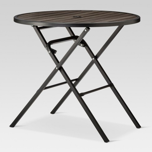 Bryant 32 Round Faux Wood Folding Patio Bistro Table Project 62 Target
