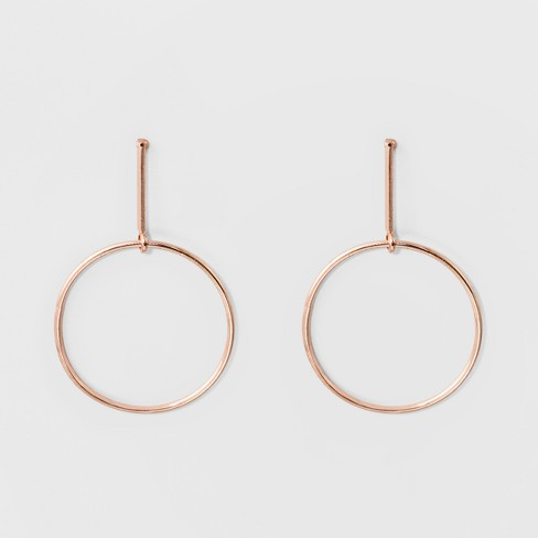 64df6935a295 Drop Earrings - A New Day™ Rose Gold   Target