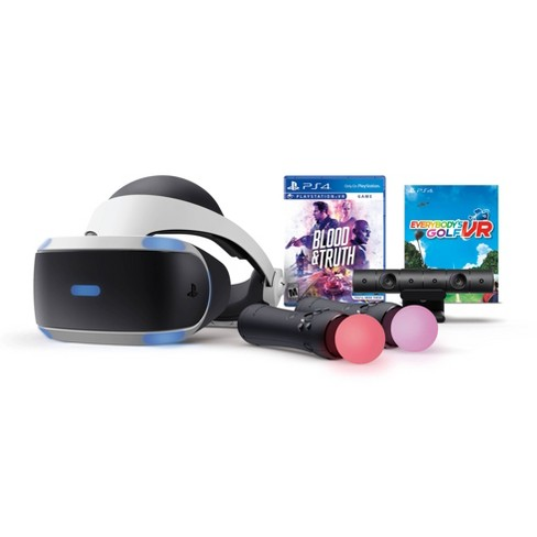 Sony PlayStation VR Bundle with Blood & Truth and Everybody's Golf VR - image 1 of 4