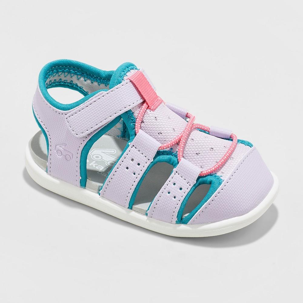 Toddler Girls' See Kai Run Basics Spencer Fisherman Sandals - Lavender 4, Purple