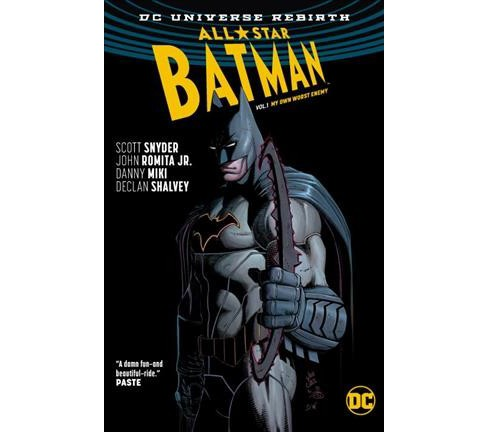 All-Star Batman 1 : My Own Worst Enemy -  (Batman) by Scott Snyder (Hardcover) - image 1 of 1