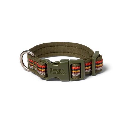Multi-Stripe Cushion Dog Collar - Boots & Barkley™ - image 1 of 1