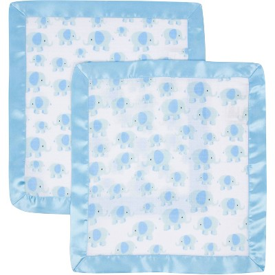 MiracleWare  Muslin Security Blanket - 2pk
