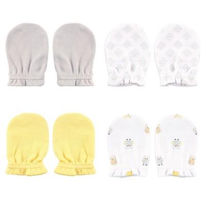 Luvable Friends Baby Cotton Scratch Mittens 4pk
