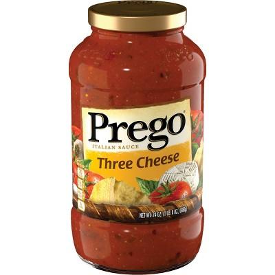 Prego Three Cheese Italian Sauce 24oz