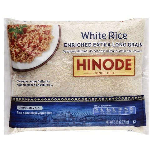 Hinode® California Long Grain Rice - 5lb - image 1 of 1