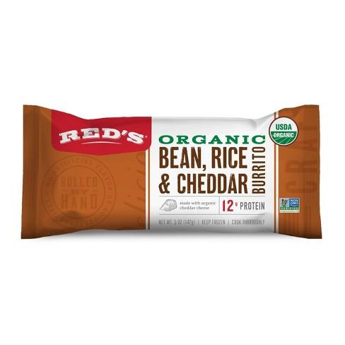 Red's Organic Bean Rice & Cheese Burrito - 5oz - image 1 of 1