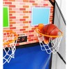 Over-the-Door Dual Electronic Basketball Game - image 4 of 4