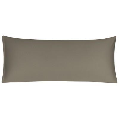 1 Pc Body Egyptian Cotton Zippered Pillowcase Brown - PiccoCasa