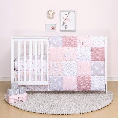 PS by The Peanutshell Meadow Crib Bedding Set - 3pc